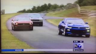 C.R. 2016 Mustang Crash Report