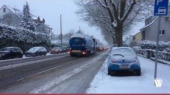 Schnee in Wiesbaden