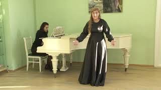 Анна Борткевич академический вокал соло категория 14-17 лет 1 тур