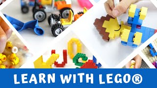 The Unofficial Guide to Learning with Lego®: 100+ Inspiring Ideas
