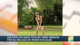 Video Ella es la 'Anna Kournikova del golf' download MP3, 3GP, MP4, WEBM, AVI, FLV Juli 2018
