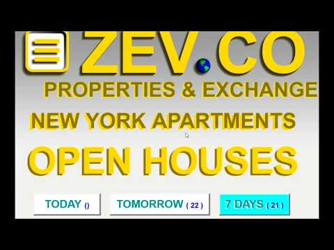 OPEN HOUSES , LISTING, NEW YORK, 22 OPEN HOUSE TOMORROW