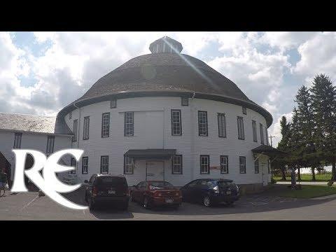 HISTORIC ROUND BARN & FARM MARKET: 1914 Circular Barn Building - Route 30 Biglerville, PA