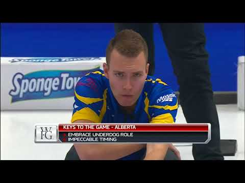 Bottcher (AB) vs. Jacobs (NO) - 2018 Tim Hortons Brier- Page 3v4 Playoff
