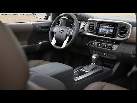 2016 Toyota Tacoma Interior Shots Youtube