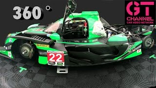 video thumbnail of Super Fast! 360 VR Sit Inside a Racecar - ESM Tequila Patron Nissan Onroak DPi