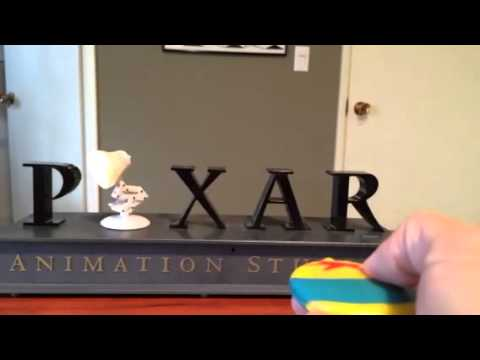 Pixar Disney Luxo Jr. Thinkway Toys Collectible