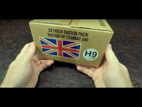 RARE !!! 2016 British ORP 24 Hour Ration Halal H9 MRE Review