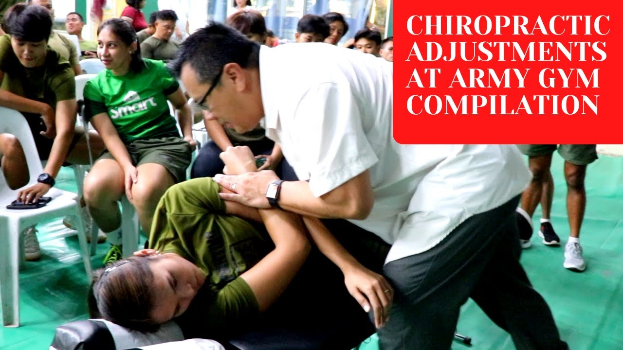 Philippines Chiropractor Provided Charitable Chiropractic Care at Philippine Army Gym