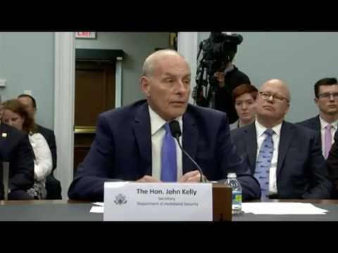 Kelly defends administration proposal to slash homeland security funding