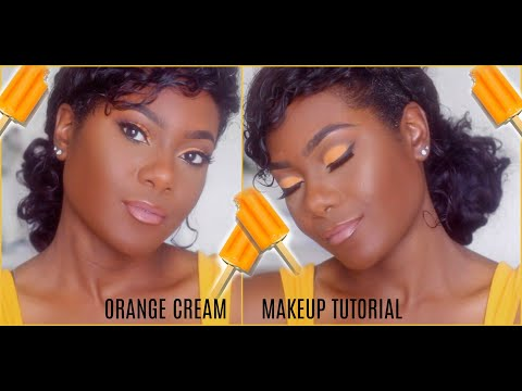KimAllure|Orange Cream Makeup Tutorial thumbnail