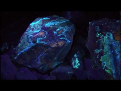 Fluorescent Minerals at Omya's White Knob Quarry