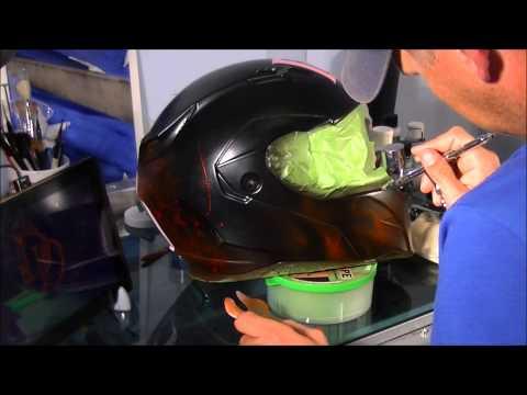 Airbrushing Helmet