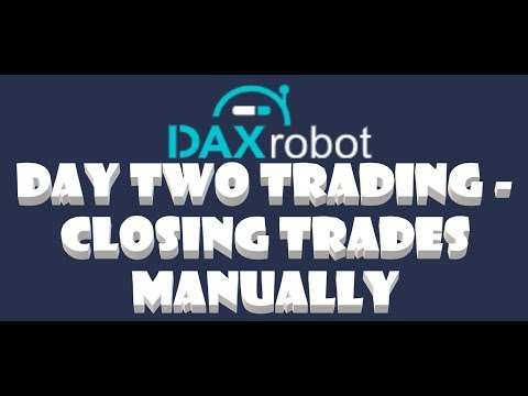 Day Two Trading With Dax Robot – Can we Recover Losses?