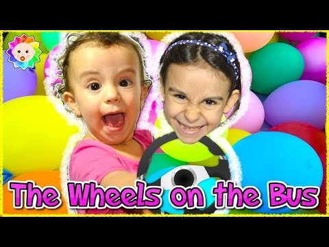 Thumbnail: Baby Joy The Blippi Wheels on The Bus Songs Joy Collection Learn Colors Balloons Baby Nursery Rhymes