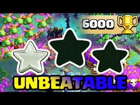 BH7 UNBEATABLE BASE DESIGN 6000+ TROPHY WITH REPLAYS! | BEST BH7 BASE LAYOUT 2017 | ANTI 1 STAR BASE