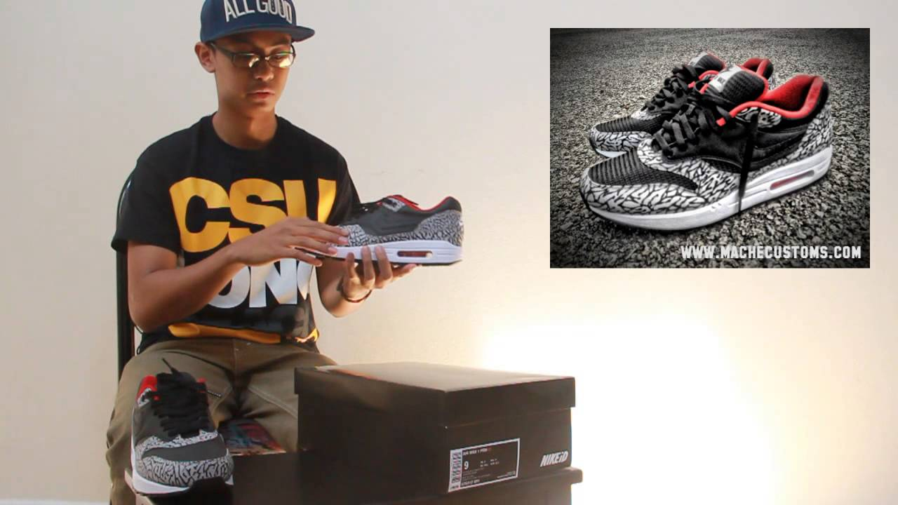 best sneakers 524f2 c4ed1 Unboxing - Air Max 1   Nike iD