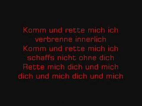 Rette Mich - Karaoke Version