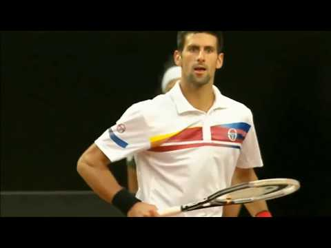 Novak Djokovic — Destroying Fedal 2011 (HD)
