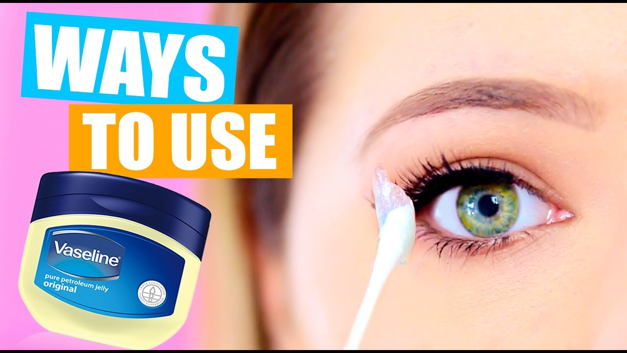 10 Weird Ways To Use Vaseline Vaseline Life Hacks Youtube