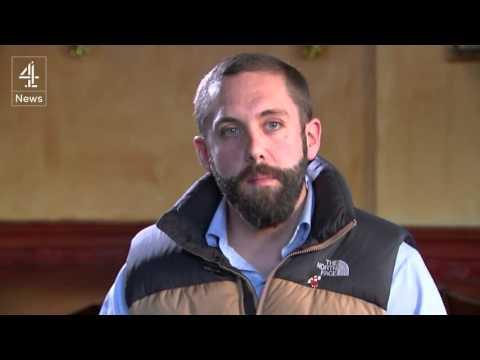 Pegida UK's new Leader Tim Scott has a car crash interview on C4 News