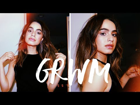 GRWM: SPARKLY NIGHT OUT