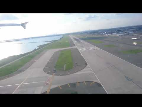 Takeoff from New York | JFK | Airbus A320 100/200