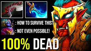 100% No Escape With Deadly Mind Breaker + Abyssal Blade Troll Warlord Epic Carry 7.23 Dota 2