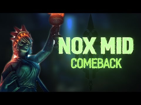 NOX MID: LADY LIBERTY NEVER SURRENDERS! - Incon - Smite