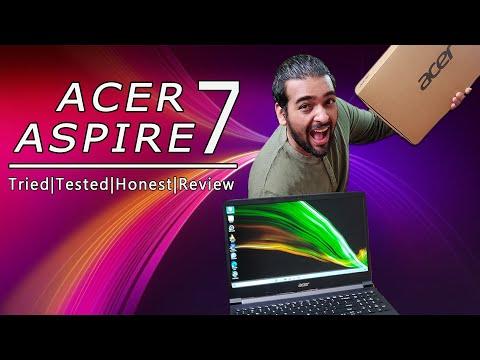 ACER ASPIRE 7 2021 | Ryzen 5 5500U GTX 1650 | Honest Review
