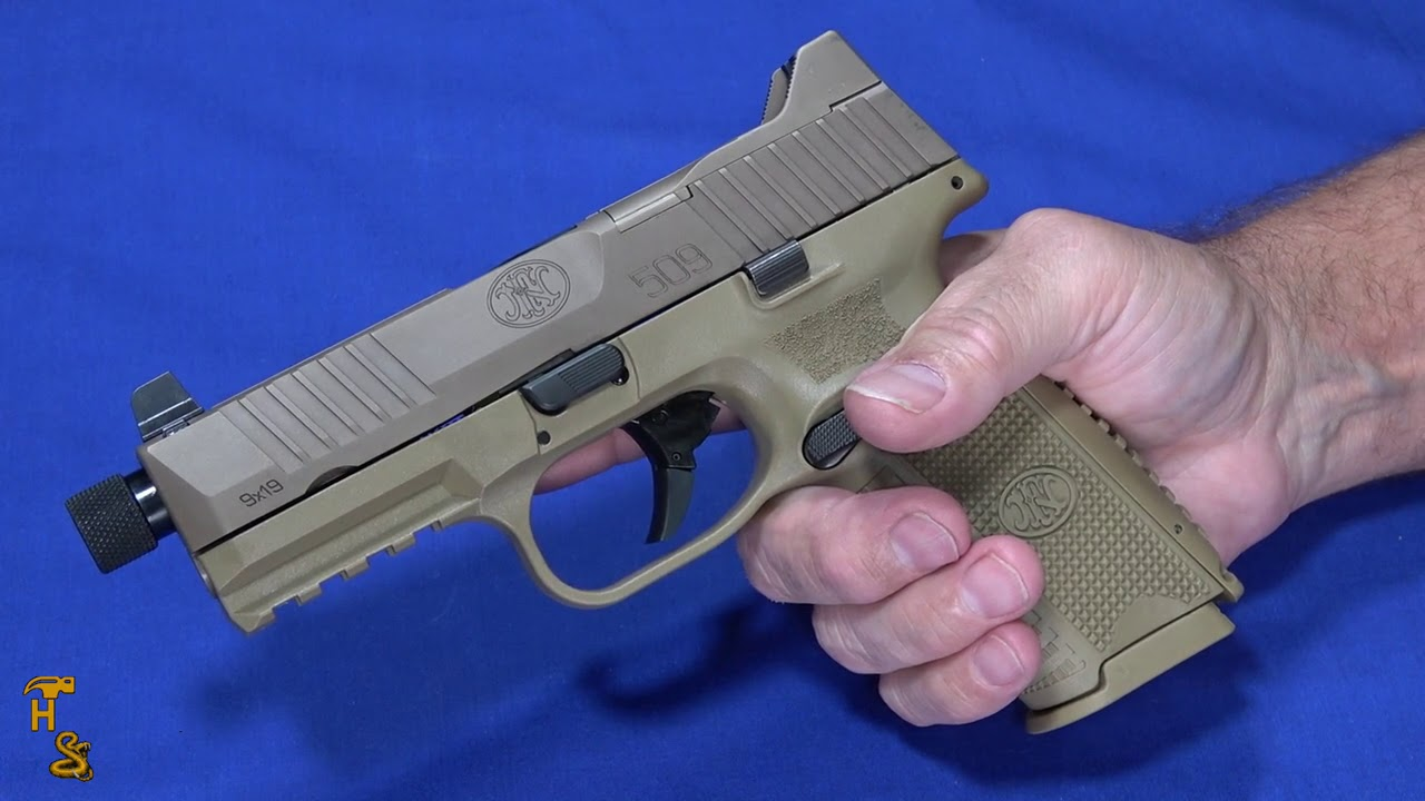 FN 509 Tactical - It Holds A Half Box!