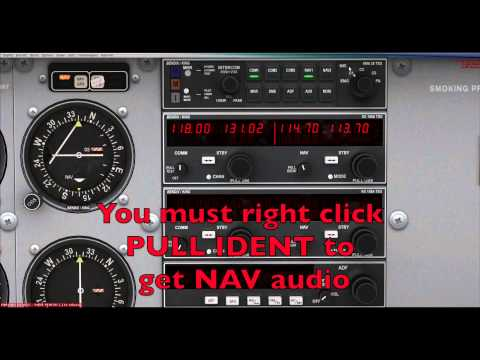 A2A Cessna 172 Bendix King Tutorial Part 1 Audio Panel Transponder And NAVCOM
