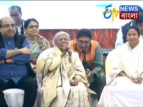 Swapan Sen, Mamata Banerjee, Sandhya Mukherjee