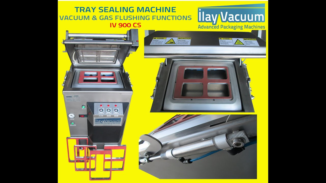 0f362201af4 Automatic Tray Case Vacuum Gas-Packing Sealer Machine - IV900CS ...