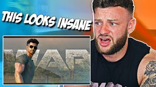 FIRST TIME Reacting to WAR Teaser Trailer  |  INDIAN MOVIES LOOKS INSANE