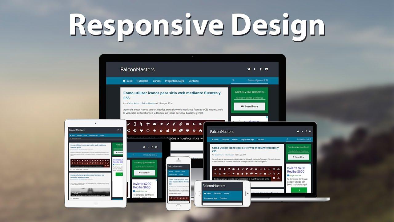 Como hacer un sitio web adaptable a dispositivos móviles con ...