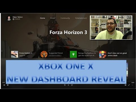 First Look at Next Major Xbox System Update (Xbox One X New Dashboard Reveal)