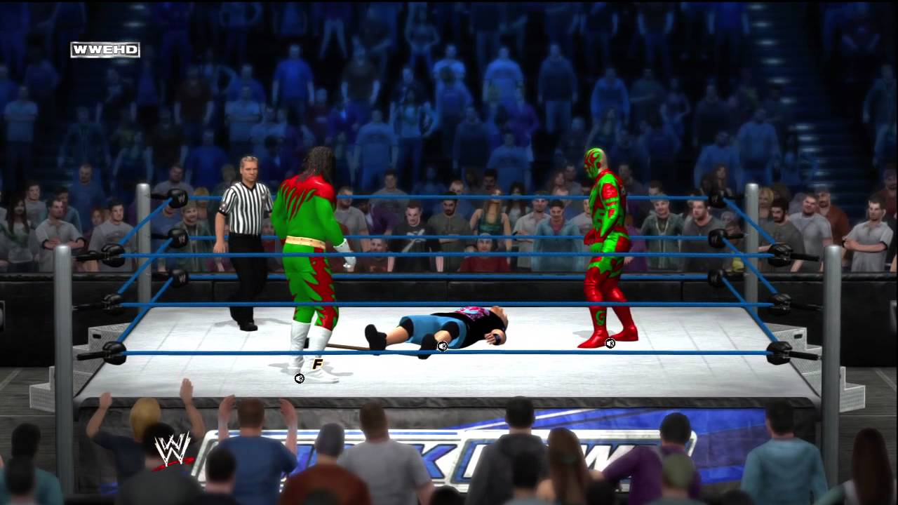 Christmas Creature and Goldmas Chrisdust Vs John Cena and The ...