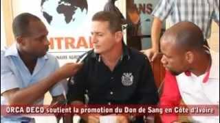 Opération Don De Sang à Orca Deco Côte D'ivoire - Partie 1.flv