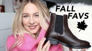 FALL FAVOURITES! fashion & beauty