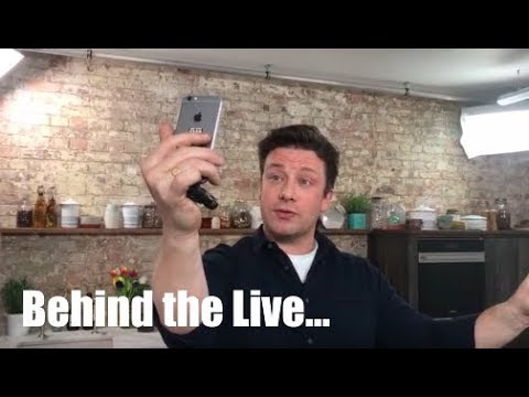 Live with Jamie Oliver | Behind the Scenes.