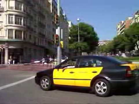 How much does it cost in a taxi from barcelona airport to the city center youtube - Cab in barcelona ...
