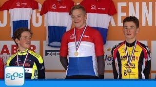 NK wielrennen jeugd 2018 - Categorie 6 jongens - SLOS