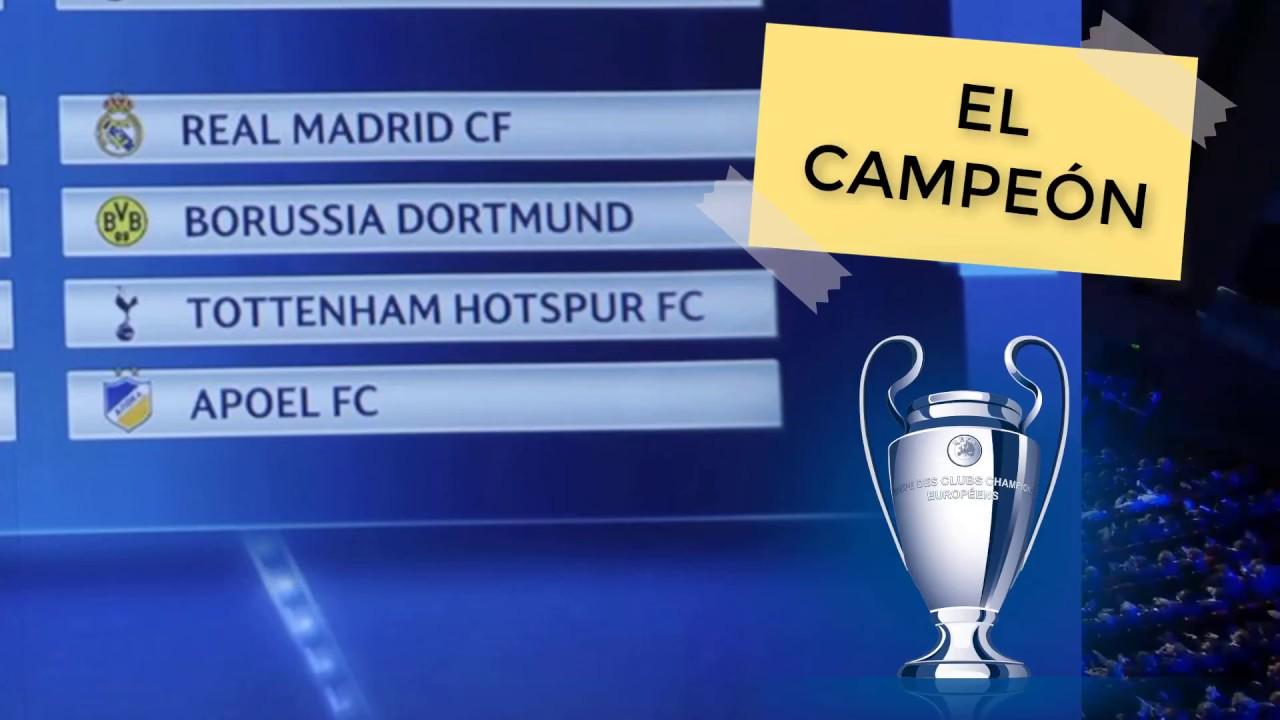 Uefa Champions League : Todos los grupos para la temporada 2017-2018 ? ? - YouTube
