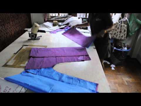 How To Make Thai Fishermans Pants By Natural Trades Thai Fisherman Pants Company Chiang Mai Thailand