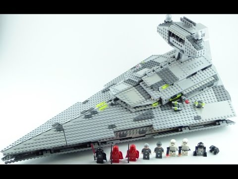LEGO Star Wars: Imperial Star Destroyer 6211 Review!!
