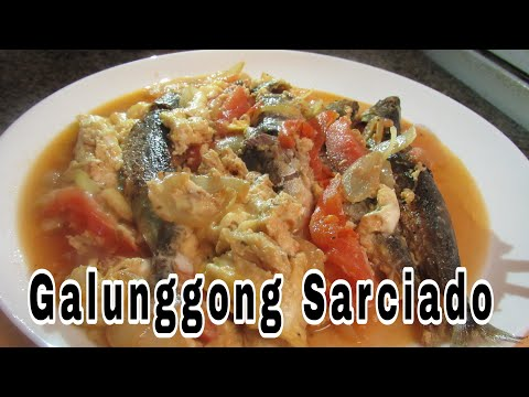 Galunggong Sarciado -simple Recipe(Mackerel Scad)