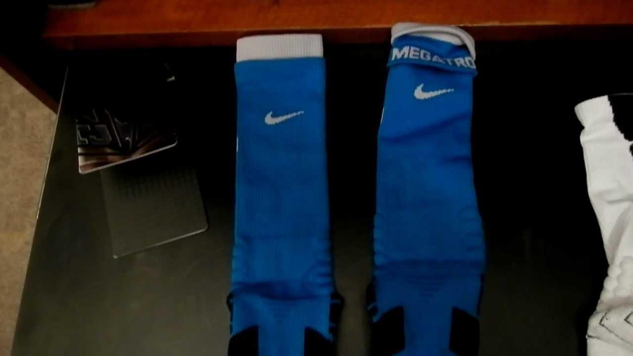 6fa2f8526 Calvin Johnson Nike Vapor Crew Sock Review AKA Megatron - YouTube