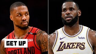 Blazers, Rockets, Lakers among Jacoby's 2020 championship contenders | Get Up