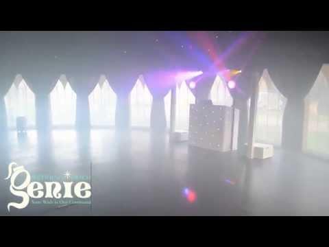 Wedding Disco Genie at Westenhanger Castle